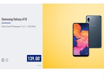 Aldi-Nord: Samsung Galaxy A10 zum Bestpreis von 139 Euro