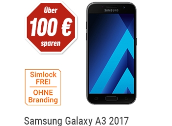 Samsung: Galaxy A3 (2017) bei Notebooksbilliger zum Bestpreis von 189,90 Euro