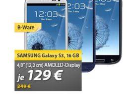 Samsung: Galaxy S3 als B-Ware für 129 Euro frei Haus