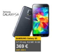 Allyouneed: Samsung Galaxy S5 für 369 Euro frei Haus