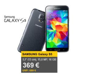 Samsung Galaxy S5 für 369 Euro frei Haus