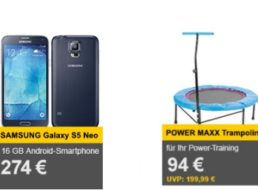 Allyouneed: Samsung Galaxy S5 Neo als Neuware für 274 Euro frei  Haus