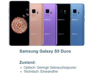 Ebay: Samsung G960 Galaxy S9 Duos als B-Ware für 319,90 Euro frei Haus