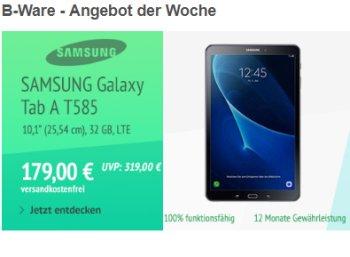 Samsung: Galaxy Tab A T585 LTE als B-Ware für 179 Euro frei Haus