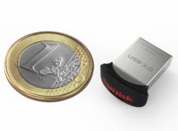 Sandisk: Cruzer Ultra Fit USB-Stick mit 32 GByte im Mini-Format für 8,99 Euro