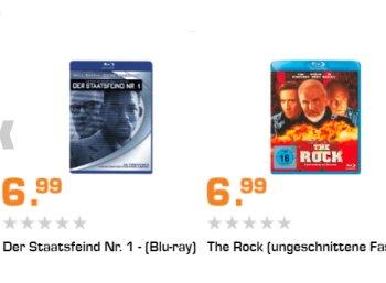 Saturn: 25 Top-Filme auf Blu-ray für je 6,99 Euro frei Haus