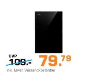 Saturn: Externe Festplatte Seagate Backup Plus mit 3 TByte für 79,79 Euro