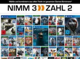 Saturn: Drei Games zum Preis von zweien bis Samstag