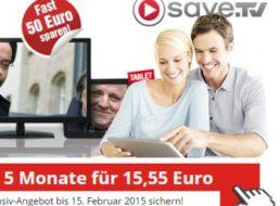 Save.TV: Fünf Monate Online-Videorecorder für nur 15,55 Euro