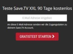 Gratis: Save.tv für drei Monate komplett gratis