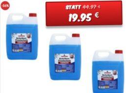 Dealclub: 15 Liter Scheibenfrostschutz für 19,95 Euro frei Haus