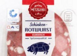 Listerien-Alarm: Aldi ruft Schinken-Rotwurst zurück