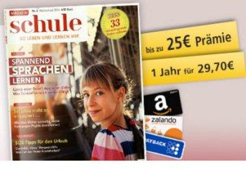 """Gratis: Jahresabo """"Schule"""" jetzt dank Gutschein mit 30 Cent Gewinn"""
