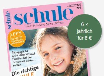 """Schnäppchen-Abo: Jahresabo """"Schule"""" für sechs Euro frei Haus"""