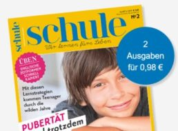 """""""Schule"""": Zwei Ausgaben der Zeitschrift für 98 Cent frei Haus"""