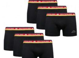 Kappa: Sechserpack EM-Boxershorts für 9,99 Euro frei Haus