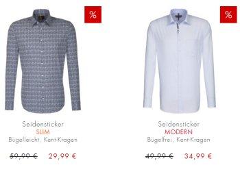 Seidensticker: Bügelleichte Hemden ab 23,99 Euro frei Haus