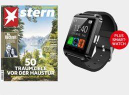 Stern: Miniabo mit 7 Heften plus Smartwatch für 23,90 Euro