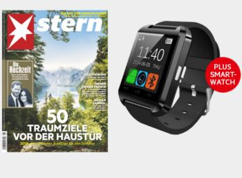Stern: Miniabo mit Smartwach für zusammen 22,90 Euro