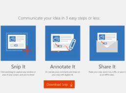 """Gratis: Screenshot-Editor """"Snip"""" von Microsoft ab sofort kostenlos"""