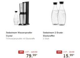 Lidl: Sodastream Crystal für 79,99 Euro, Ersatzflaschen für 15,99 Euro