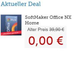 """Gratis: """"Softmaker Office NX Home"""" im Wert von 39,90 Euro via Heise gratis"""