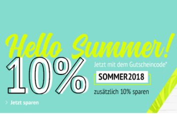 Allyouneed: Zehn Prozent Sommer-Rabatt bis Mitte August