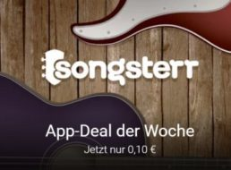 Musik-App: Songsterr Guitar Tabs & Chords für zehn Cent bei Google Play