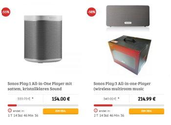 Dealclub: Sonos-Lautsprecher als geöffnete Neuware ab 154 Euro