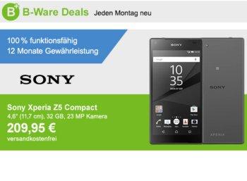 Allyouneed: Sony Xperia Z5 als B-Ware für 209,95 Euro frei Haus