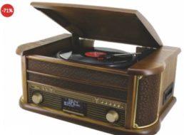 Dealclub: Audioplayer Soundmaster NR513DAB mit Bluetooth für 129 Euro