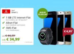 Vodafone: Smart L mit Allnet-Flat, SMS-Flat und 1 GByte für 4,53 Euro