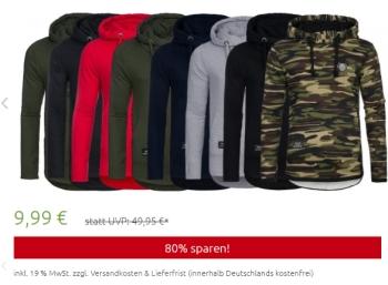 Outlet46: Hoodies von Spartans History für 9,99 Euro frei Haus