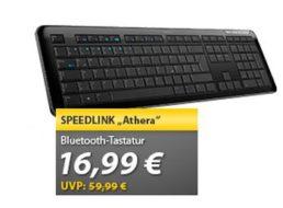 Meinpaket: Bluetooth-Tastatur Speedlink Athera als B-Ware für 14,99 Euro