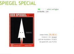 """""""Der Spiegel"""": Halbjahresabo für 39,90 Euro frei Haus"""