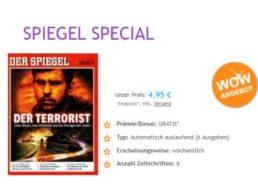 Der Spiegel: 6 Ausgaben mit automatischem Abo-Ende für 4,95 Euro