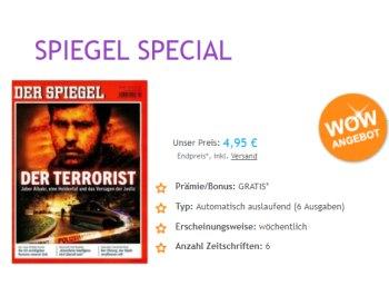"""Kurzabo: Sechs Ausgaben """"Der Spiegel"""" mit automatischem Ende für 4,95 Euro"""