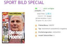 Sport Bild: Sechs Ausgaben mit automatischem Abo-Ende für 3,95 Euro