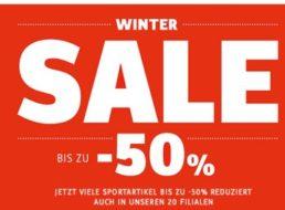 SportScheck: Sale mit bis zu 50 Prozent Rabatt bis zum 11. Januar
