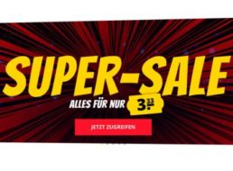 Sportspar: Sale mit hunderten Artikeln für je 3,33 Euro