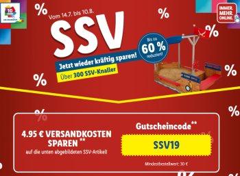 Lidl: SSV mit Gratis-Versand ab 30 Euro Warenwert