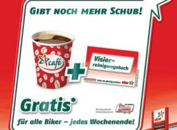 """Gratis-Kaffee: Für alle Biker zur Saison an """"star""""-Tankstellen"""