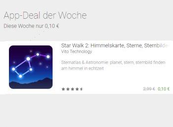 """Google Play: """"Starlwalk 2"""" jetzt für 10 Cent statt 2,99 Euro"""