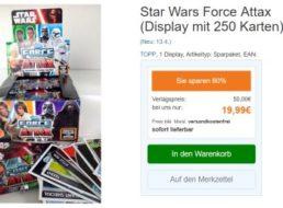 Terrashop: 250 Star-Wars-Karten für 19,99 Euro frei Haus