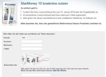 Gratis: Starmoney 10 via Chip zum Nulltarif verfügbar