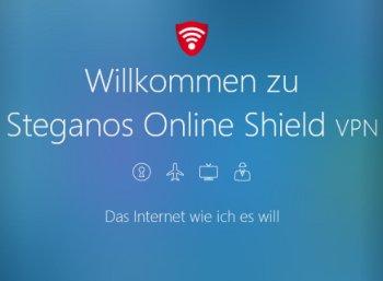 Gratis: Steganos Online Shield VPN für 1 Jahr zum Nulltarif