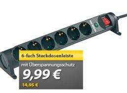 Meinpaket: Überspannungsschutz-Steckdosenleiste für 9,99 Euro frei Haus
