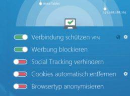 Gratis: Steganos Online Shield VPN mit 5 GByte pro Monat