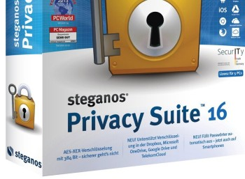 Chip: Vollversion Steganos Privacy Suite 16 zum Gratis-Download