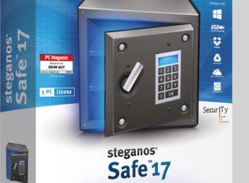 """Gratis: Verschlüsselungs-Software """"Steganos Safe 17"""" zum Nulltarif"""